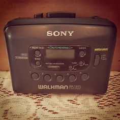 Old school #sony #walkman #tbw #oldschool