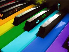 The Colors Of Music Wallpaper