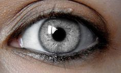Silver eyes are a strong sign of telepathy.
