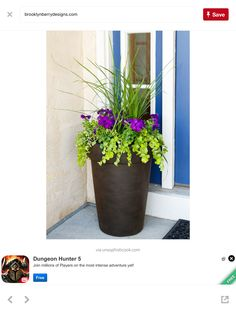 Charmant Planting A Perfectly Proportioned Garden Vase    Three Easy Steps To  Planting A Garden Vase That Will Be A Beautiful Focal Point For Your Front  Porch Or ...