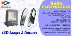 Bajaj offers wide range of led light fixtures at affordable range. For more information visit us at http://www.babaelectricals.net/products/bajaj-luminaries #Led #light #fixtures