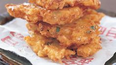 Get friendly with the Japanese daikon radish in this golden-fried hash brown recipe. Daikon Recipe, Veggie Fritters, Radish Recipes, Fresh Ginger, Brown Recipe, Vegetable Recipes, Hash Browns, Meals, Dinners