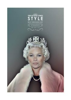The Sunday Times - Fashion Royalty