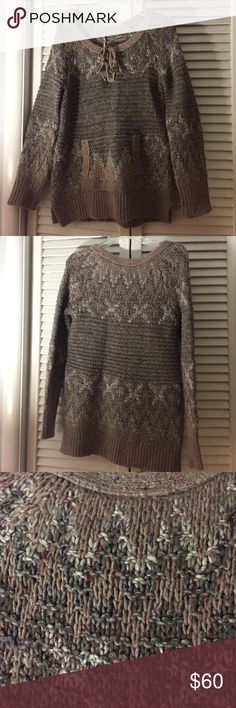 Free People Heavy Wool Sweater NWT Free People Sweater. size XS. Heavy Sweater. NWT. No Stains or rips. Bought at store. Free People Wool does have variations and made to look homemade. This item never worn! Cleaning out my Free People I don't wear. Please ask all questions prior to buying.I bundle! Free People Sweaters Crew & Scoop Necks