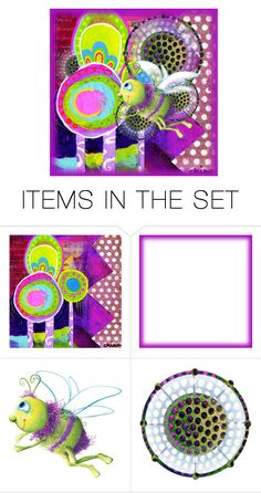"""""""pollination"""" by jennifer ❤ liked on Polyvore featuring art"""