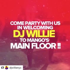 "Muy duro este Dj amigo mio! #Repost @djwillienyc  Tomorrow Saturday July 15th --------> We ROCK at @MangosOrlando on International Drive ...................... 3 Rooms to choose from the ""Main Room""  ""Patio Room""  ""The Voodoo Room"" ..................... Swing Thru Let's Drink ..................... Bring your friends family co-workers neighbors and get your cameras reeeeeeady it's going to be a movie  ...................... #mangos #idrive #orlando #universalstudios #disney #party"