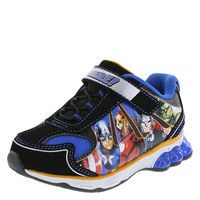 Boys' Toddler Avengers Lighted Runner, Black