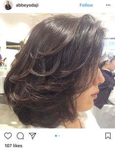 37 Best ideas for haircut layered shoulder length waves - Beauty interests Layered Haircuts For Medium Hair, Medium Length Hair Cuts With Layers, Long Layered Hair, Medium Hair Cuts, Short Hair Cuts, Medium Hair Styles, Curly Hair Styles, Layered Lob, Medium Layered