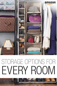 Bring organization into your home with these unique storage options.