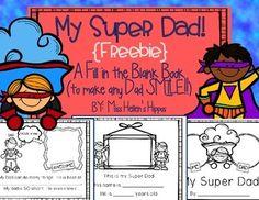 My Super Dad... A Father's Day Book {FREEBIE}