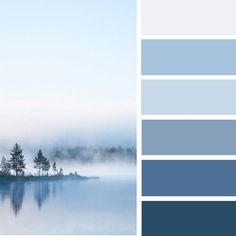 Light lilac and shades of blue color palette Bedroom Colour Palette, Blue Colour Palette, Bedroom Colors, Lilac Color, Blue Shades Colors, Light Blue Color, Colours, Paint Colors For Home, House Colors