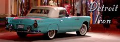 1955 Ford Thunderbird.  We never had one when I was growing up, but I always thought this car was soo cool.  Bought my own T-bird when I was 27!