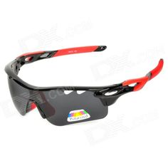 CARSHIRO 9559 Sporty UV400 Polarized Goggles   Replacement Lenses for Cycling