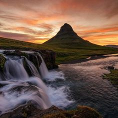 """""""Kirkjufell"""" by Halldor Ingi https://gurushots.com/HalldorIngi/photos?tc=2f714573798c4445d3810149174a9e47"""