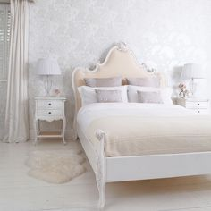 NEW! Provencal Magnifique Upholstered Luxury Bed (Image 2)