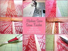 Machine Sewn Seam Finishes – Hong Kong & Bound Seam - Part 4 of 4 | Sew4Home