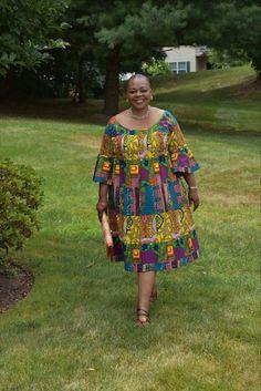 45 looks para quem está acima do peso 45 looks para quem está acima do peso African Dresses For Kids, African Maxi Dresses, Latest African Fashion Dresses, African Attire, South African Traditional Dresses, African Inspired Clothing, Shweshwe Dresses, The Dress, Ankara Designs