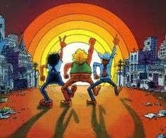 Gilbert Shelton's Fabulous Furry Freak Brothers - first published in Austin's underground newspaper The Rag. Underground Comics, Favorite Cartoon Character, Comic Character, Comic Books Art, Comic Art, Book Art, Gilbert Shelton, Adult Cartoons, Comic Covers
