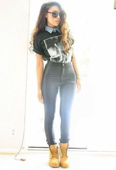 What To Wear With High Waisted Skinny Jeans | Hairstyle Ideas