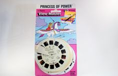 Vintage Toys, View Master Reels,Princess of Power, Knight Rider, Extra Reels. $15.00, via Etsy.