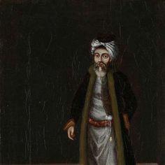 A Jewish Money-Changer, workshop of Jean Baptiste Vanmour, 1700 - 1737 - Rijksmuseum