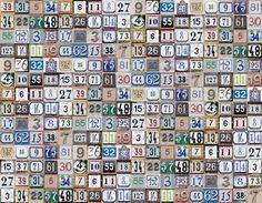 #wallpaper - House Numbers - rebelwalls.com