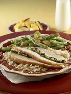 Holiday Stuffed Turkey & Green Bean Casserole #glutenfree
