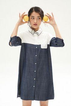 Denim Cat Shirt Dress - Miss Patina - Vintage Inspired Fashion Miss Patina, Patina Style, Vintage Inspired Fashion, Cat Shirts, Fashion Outfits, Womens Fashion, Street Wear, Shirt Dress, Couture