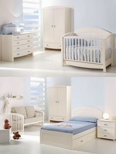 Cuna transformable modelo futura (Cotinfant) Nursery Room, Kids Bedroom, Bedroom Decor, Bedroom Ideas, Baby Boy Rooms, Baby Room, Baby Furniture, Kid Beds, Home Deco
