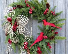 Christmas Wintertime Wreath