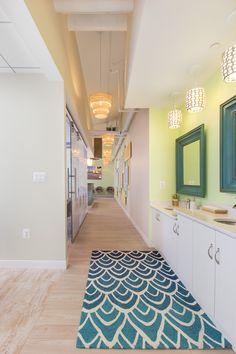 Sublime Smiles Gaithersburg | hallway interior design | Arminco Inc