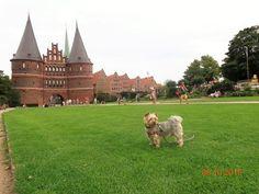 at Holstentor - Lubeck - #Germany - #UNESCO #WorldHeritage
