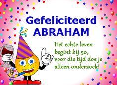 leuke verjaardagswensen abraham