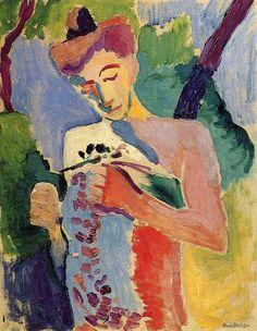 Henri Matisse - Woman 1913. Pinterest