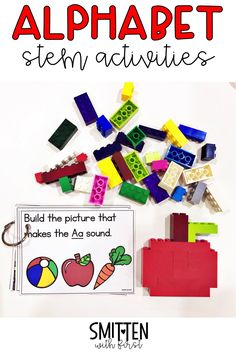 alphabet stem activities