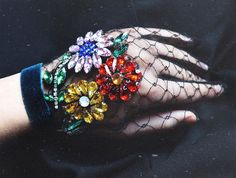 "2,122 Likes, 25 Comments - Lirika Matoshi (@lirika.matoshi) on Instagram: ""•working on gloves today• available on Etsy• #embroideryart #madeinnyc #handmade"""