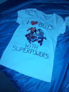 Marvel avengers T-Shirt DIY