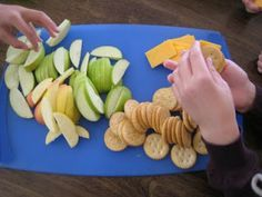 A Snacky Lunch – It's What's On the Menu