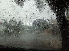 chuva não para-brisa
