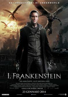 I, Frankenstein (horror, thriller) Al #cinema dal 23 gennaio 2014.  #film #cinetimeit