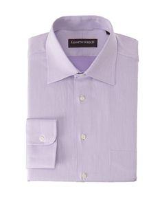 57% OFF Kenneth Gordon Men\'s Dress Shirt (Lavendar)