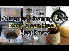 26 Genius Cleaning Hack Every Clean Freak Must Know - Cleaning Hacks Cleaning Blinds, Bathroom Cleaning Hacks, Household Cleaning Tips, Laundry Hacks, House Cleaning Tips, Car Cleaning, Diy Cleaning Products, Cleaning Solutions, Kitchen Cleaning