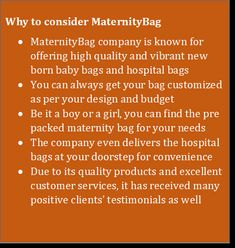 MaternityBag is known for offering high quality and vibrant new born baby bags and hospital bags, Due to its quality products and excellent customer services, Baby Bags, Hospital Bag, Maternity, Vibrant, Products, Gadget, Kids Bags