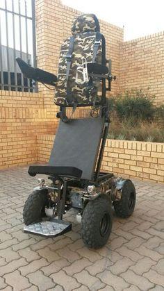 Standing Predator 4x4 Power Wheelchair Powered Wheelchair, Predator, Nice View, 4x4, Beach, The Beach, Beaches