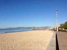 Mal ein leerer Strand