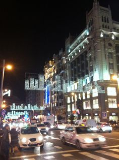 Navidad 2011, Madrid. C/Gran Vía