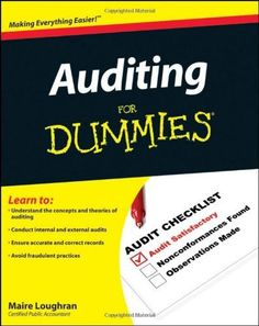 Download intermediate accounting for dummies ebook free by maire auditing for dummies malvernweather Choice Image