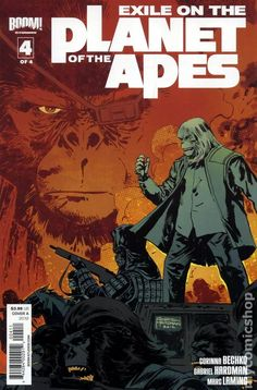 Exile on the Planet of the Apes (2012 Boom) 4A Comic book covers