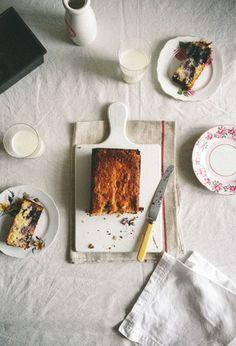 Blueberry & Coconut Buttermilk Bread