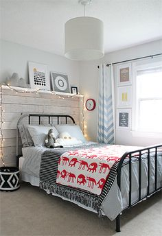 Boys Bedroom via Owens Olivia